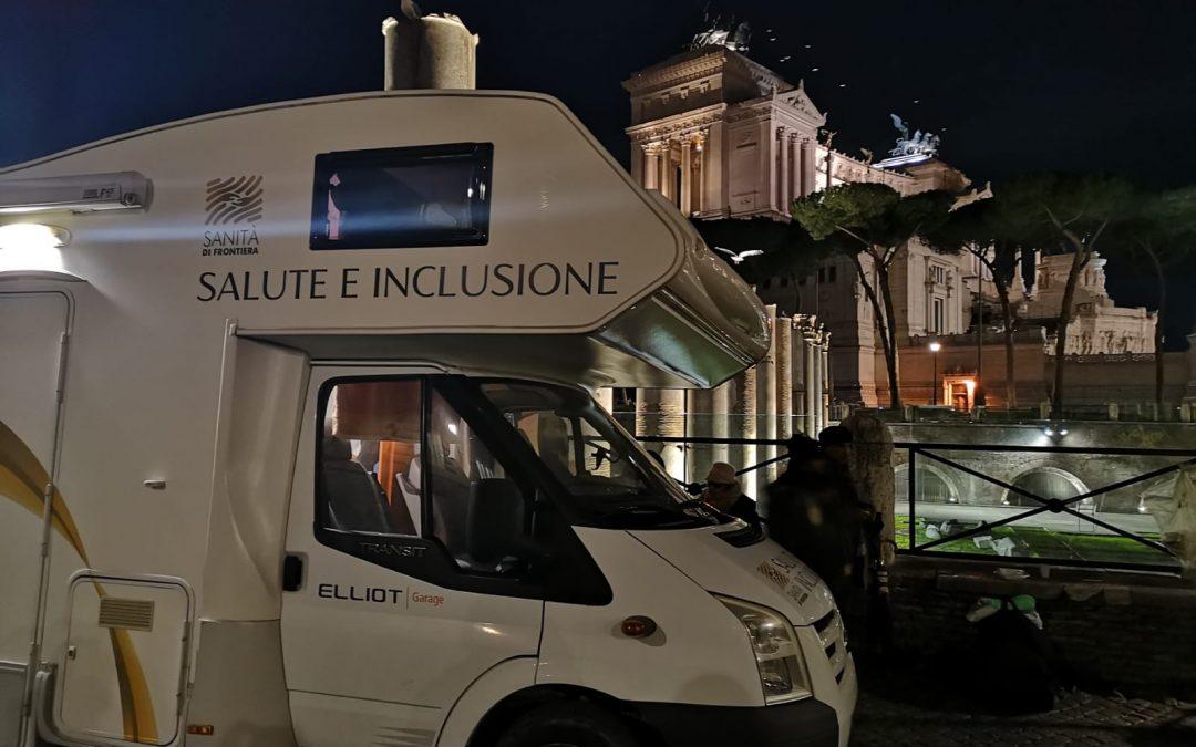L'unità mobile di Sanità di Frontiera da gennaio anche a piazza Venezia
