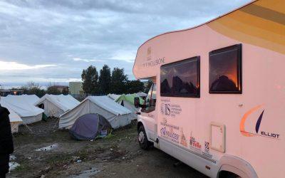 Visite mediche, tendopoli e sostegno psicologico: attiva l'unità mobile di Sanità di Frontiera e Consulcesi Onlus