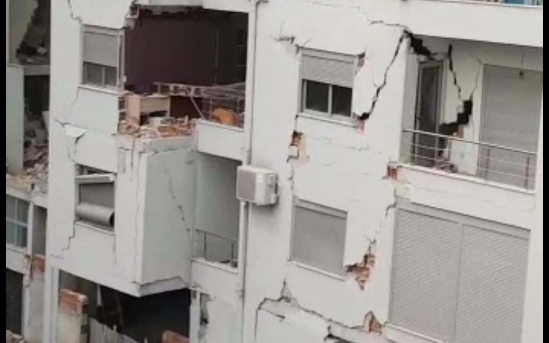 L'Unità Mobile in soccorso della popolazione albanese colpita dal terremoto